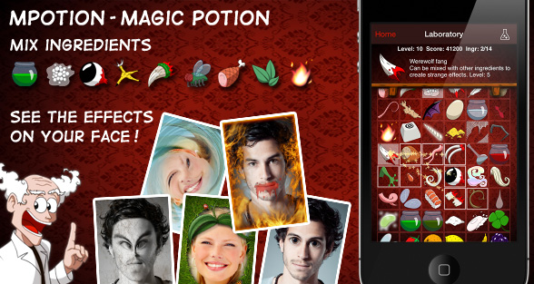MPotion – Magic Potion Photo – Potions Magiques Photos